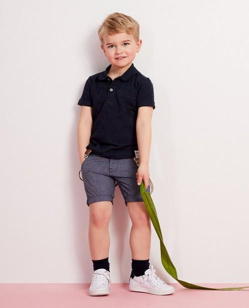 Short bleu à bretelles, 2-7 ans  - look denim - JBC