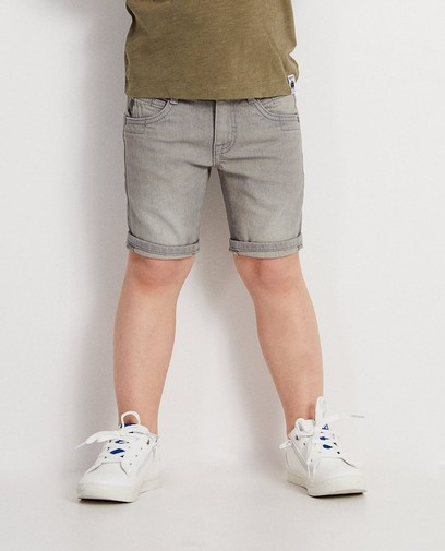 Grijze jeansshort Maya