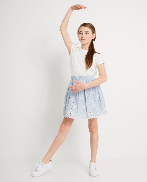T-shirt Katja Retsin, 7-14 jaar - In wit - Katja Retsin