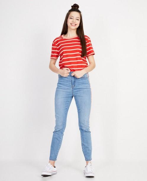 Super skinny jeans met strook - Met high waist - JBC