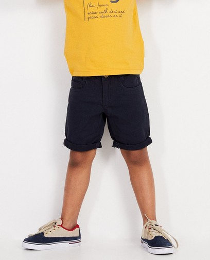 Donkerblauwe short BESTies