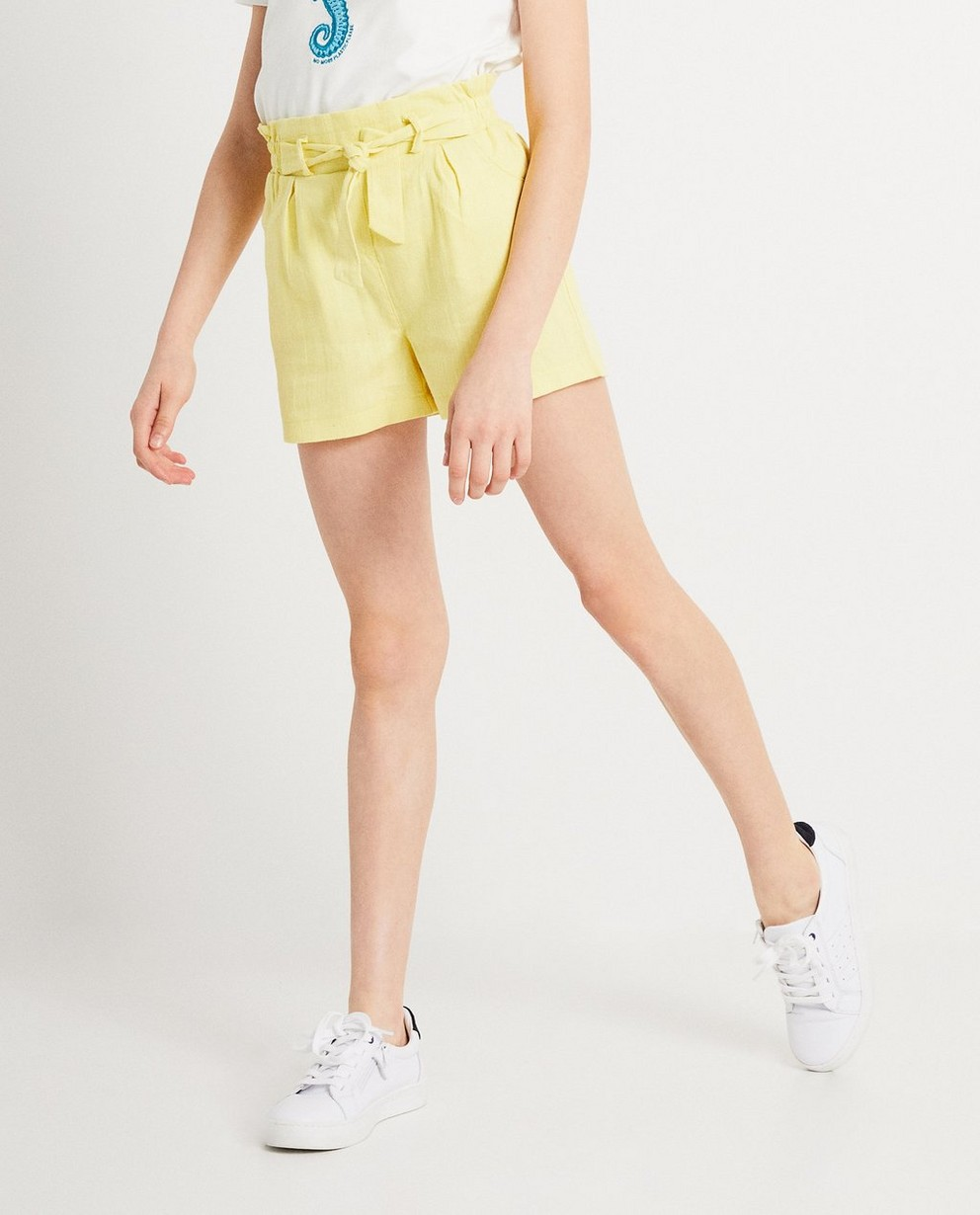 Shorts - light yellow - Gele short IAM