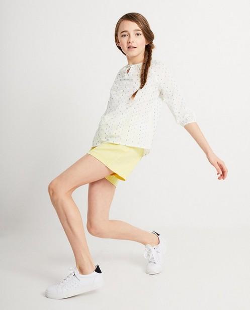 Witte blouse van katoen I AM - null - I AM