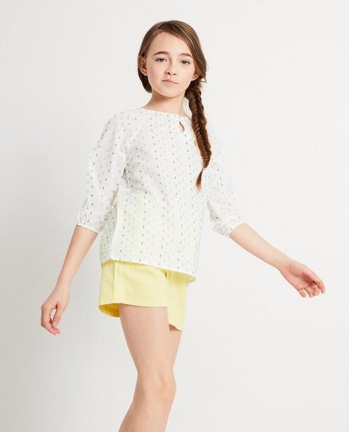 Chemises - AO2 - Witte blouse van katoen I AM