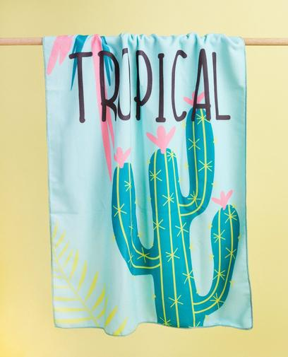 Microvezel handdoek 'Tropical'