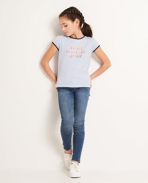 T-shirt à inscription - coton bio - JBC
