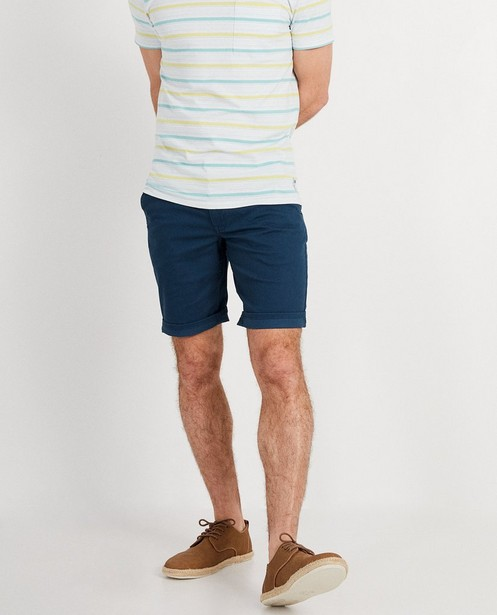 Shorts - navy - Short bleu pétrole I AM