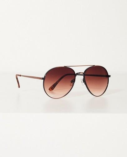Bruine pilotenbril