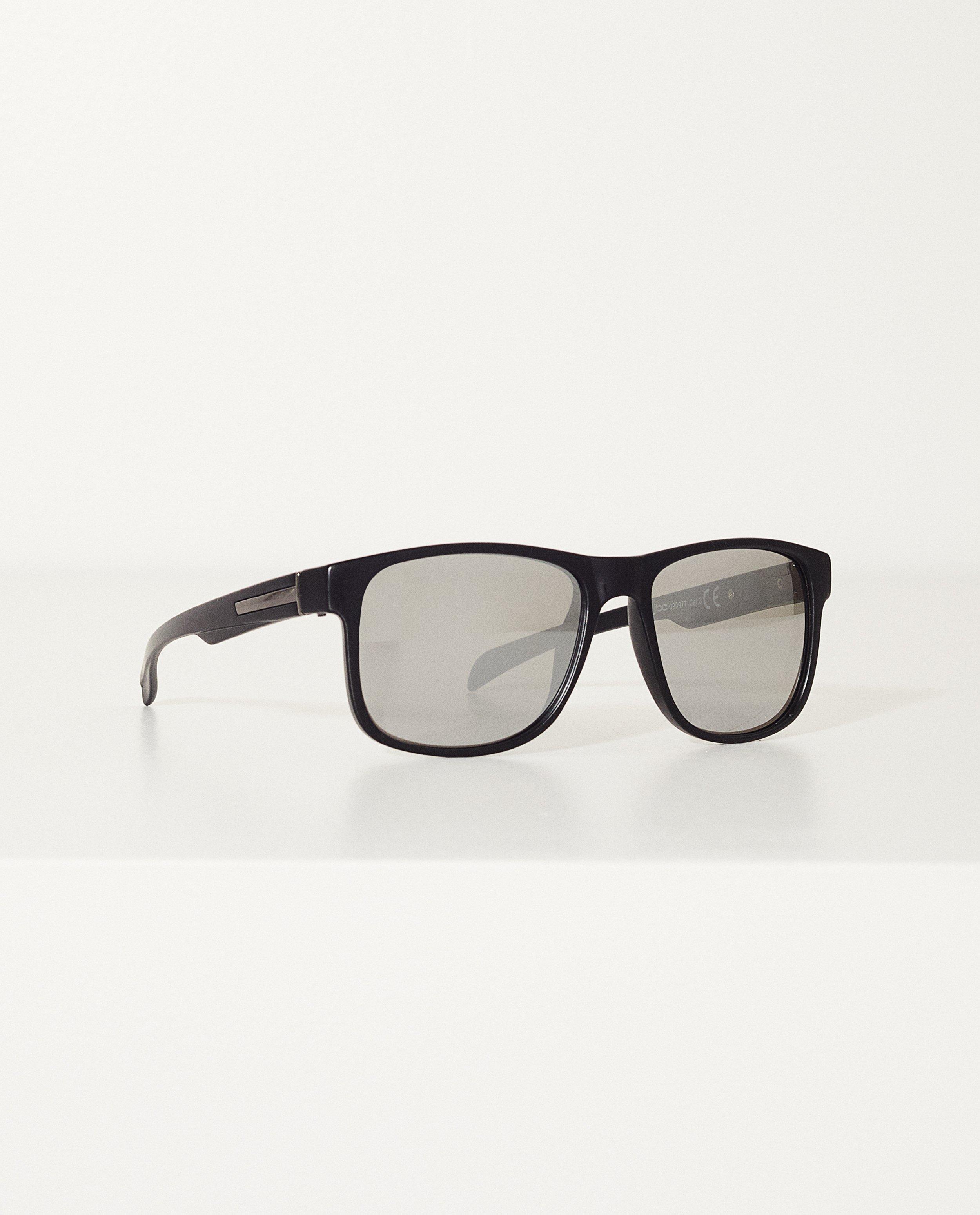 1fab0472649d6f Zwarte zonnebril Met spiegelglazen