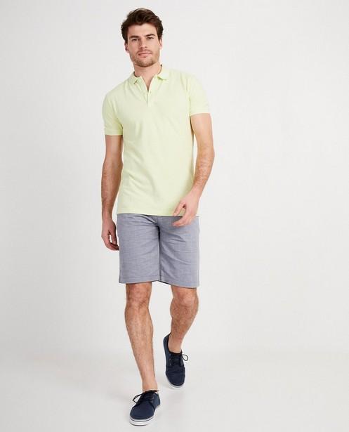 Polo dans un vert pâle frais - couleur tendance - Iveo
