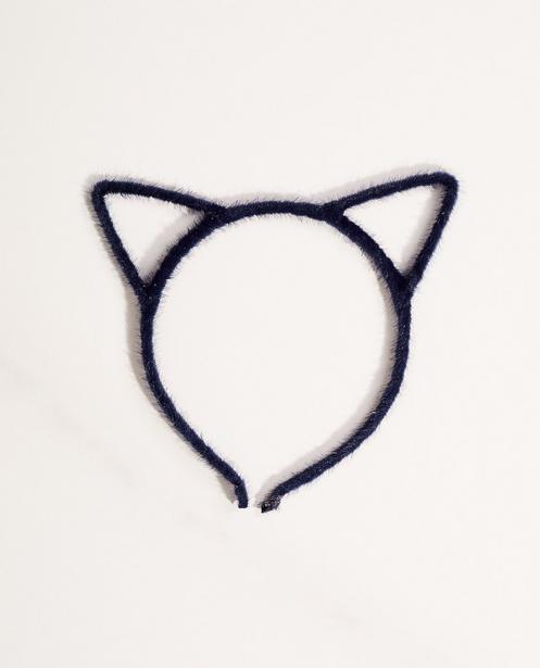 Diadem mit Katzenöhrchen - haarig - JBC