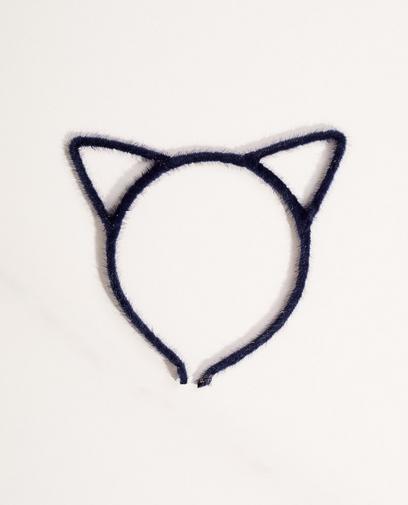 Diadem mit Katzenöhrchen