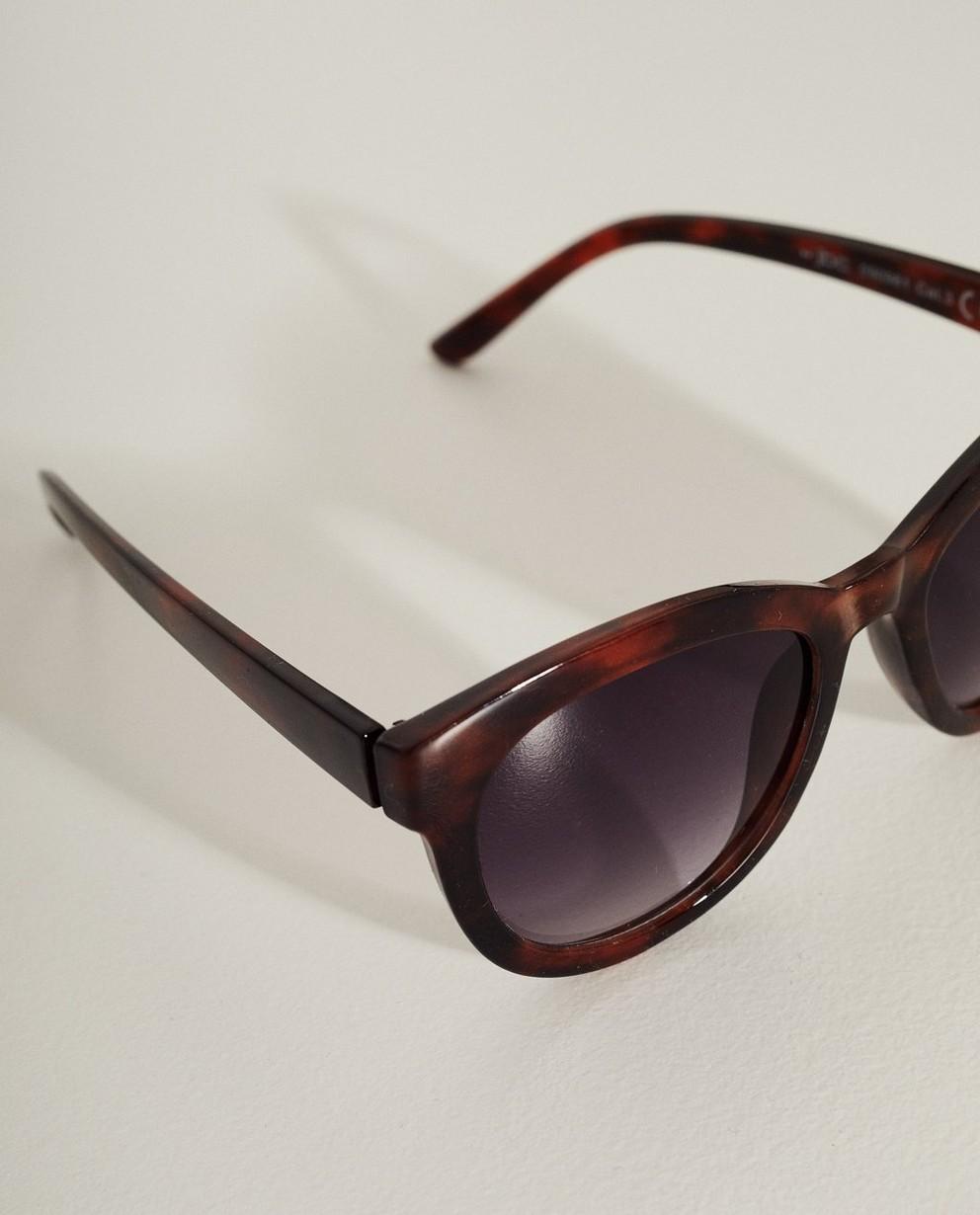 Zonnebrillen - BRM - Bruine zonnebril met dierenprint