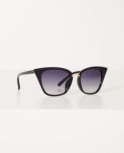 Zwarte zonnebril  - Met gouden accent - JBC