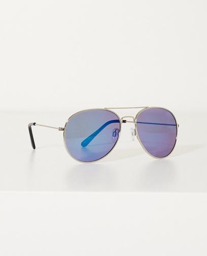 Zonnebril met blauwe glazen