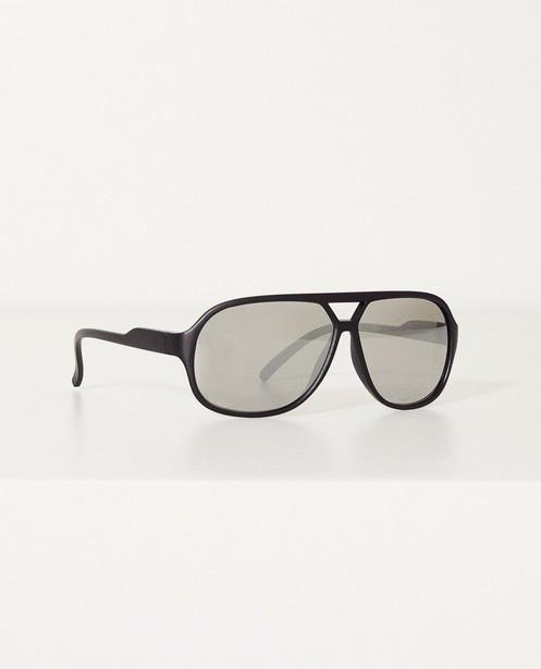 Zonnebril met spiegelglazen  - In zwart - JBC