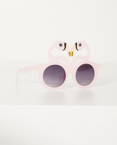 Sonnenbrille mit Flamingos