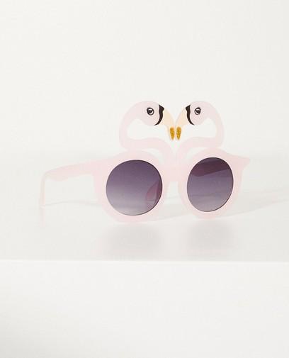 Zonnebril met flamingo's