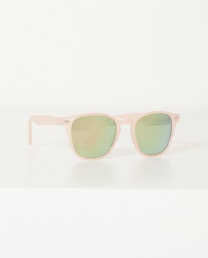 Zonnebril met spiegeglazen