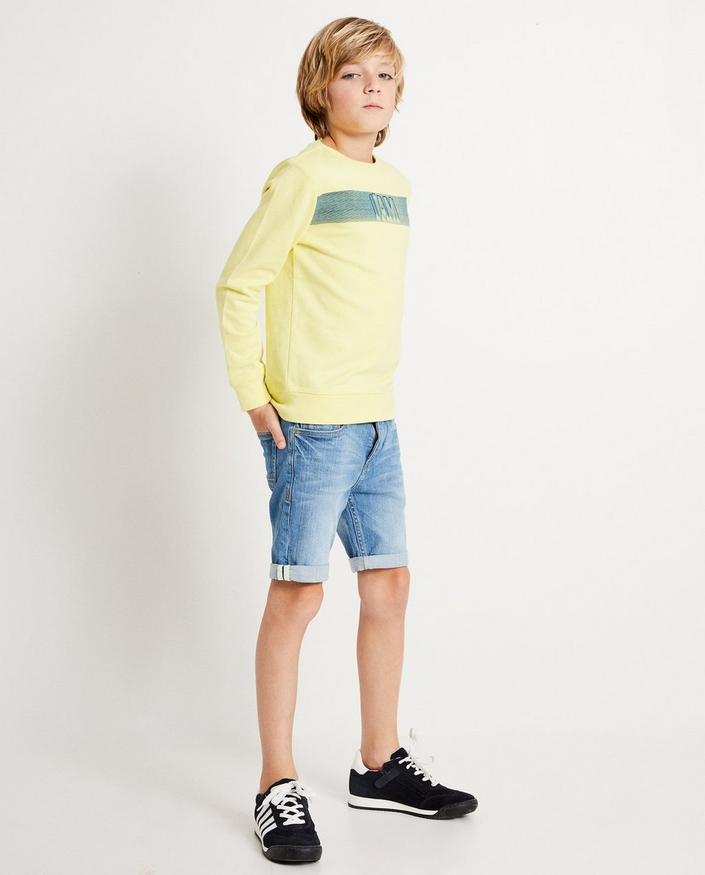 Short van gerecycleerde jeans I AM - Post consumer denim - I AM