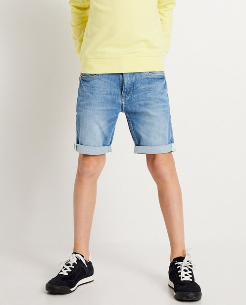 Shorts - light turquise - Short van gerecycleerde jeans I AM