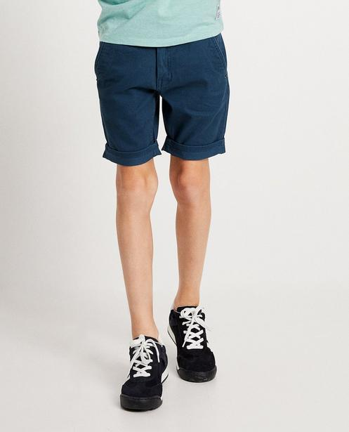 Shorts - navy - Kanariegele short I AM