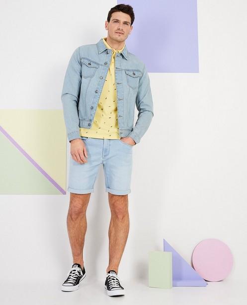 Veste en jeans - En bleu ciel - JBC