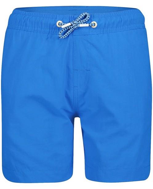 Short de bain bleu - rayures blanches et bleues - JBC