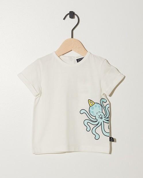 Grijs T-shirt van biokatoen Bumba - In gemêleerd grijs - Bumba