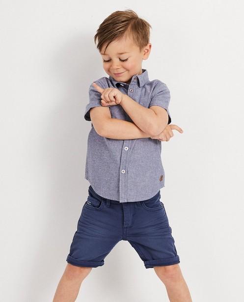 Chemises - navy - Grijs hemd Wickie
