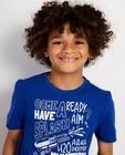 T-shirts - T-shirt bleu, imprimé BESTies