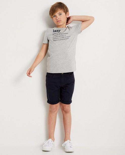 Blauw T-shirt met opschrift - woordenboek quote - Besties