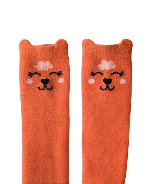 Chaussettes - orange -