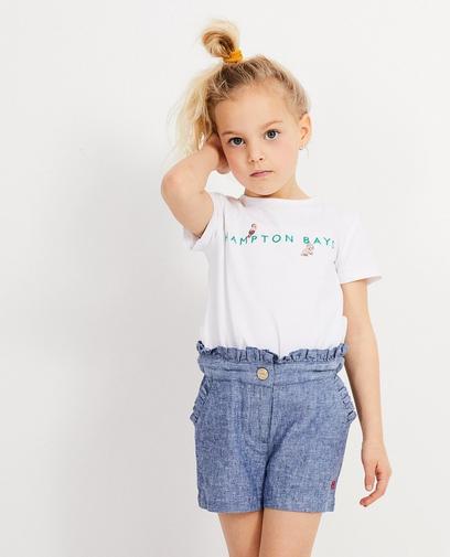 Wit T-shirt Hampton Bays