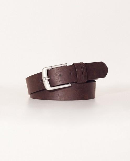 Ceinture brun foncé - 2 passants de ceinture - JBC