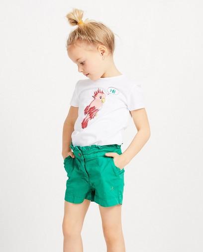 T-shirt met papegaai Hampton Bays