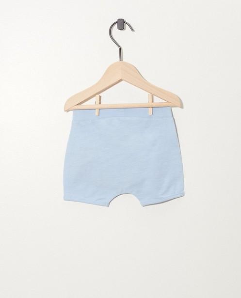 Shorts - Short bleu clair en coton bio