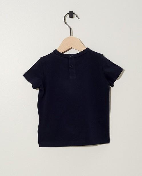 T-shirts - BLD - Donkerblauw T-shirt BESTies