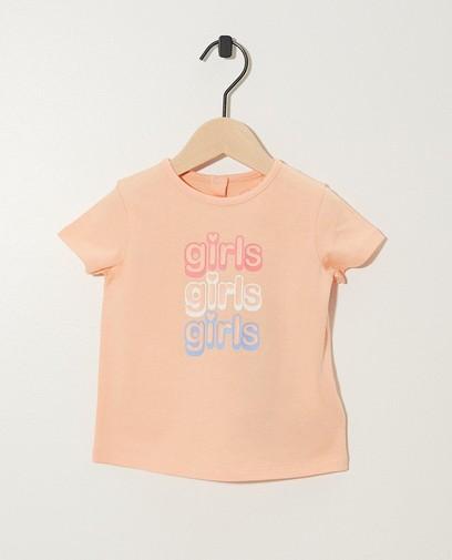T-shirt rose, inscription BESTies
