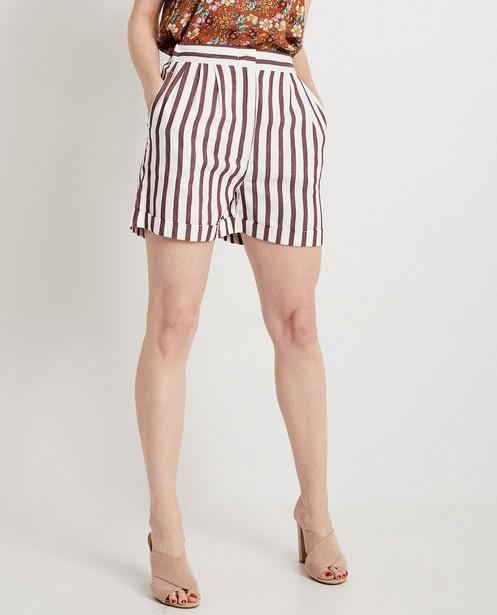 Shorts - AO4 - Short rayé Karen Damen