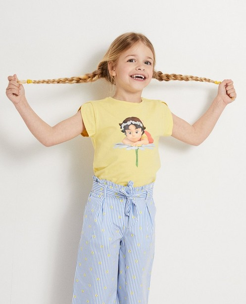T-shirts - aqua - Geel T-shirt met print Heidi