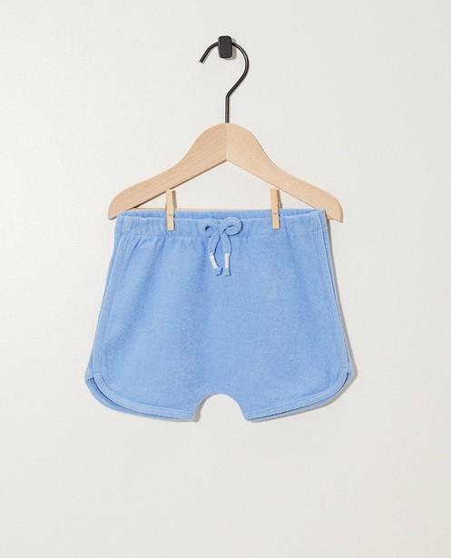 Short bleu BESTies - avec nœud papillon - Besties