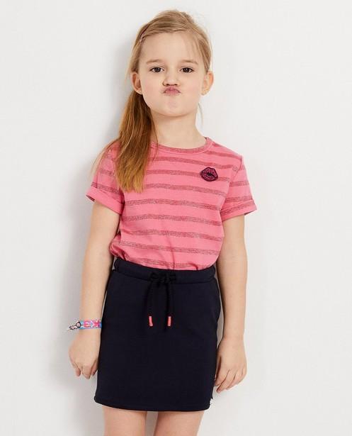 T-shirts - AO2 - Roze T-shirt met strepen K3
