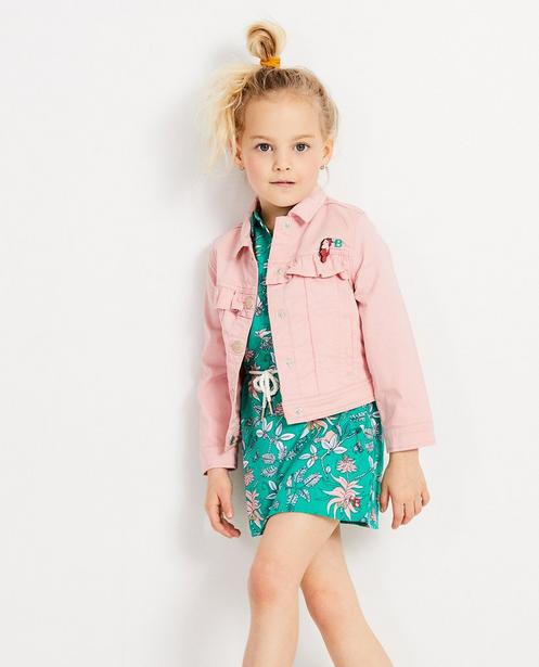 Blazers - light pink - Roze jas met ruches Hampton Bays