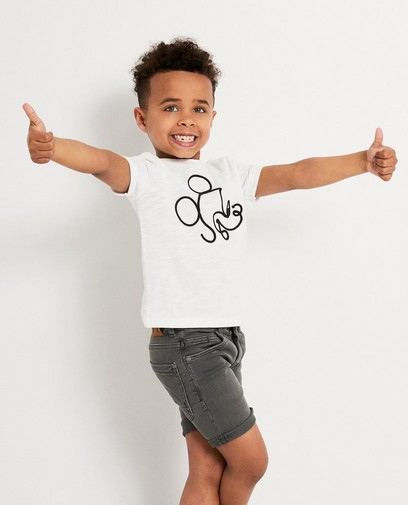 T-shirt blanc avec Mickey, Disney