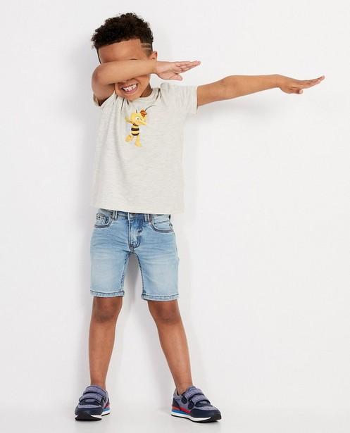 T-shirt gris avec Willy de Maya - imprimé - Maya