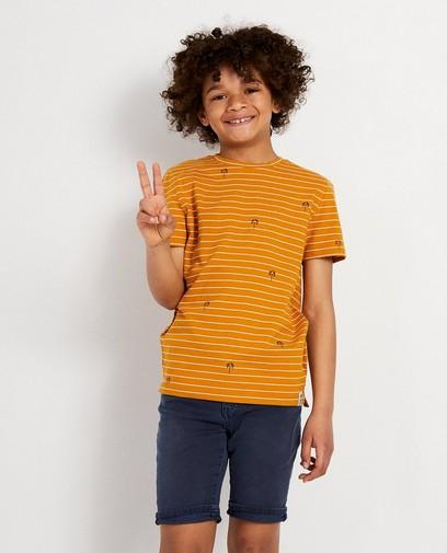 BeigeT-shirt met print Ketnet
