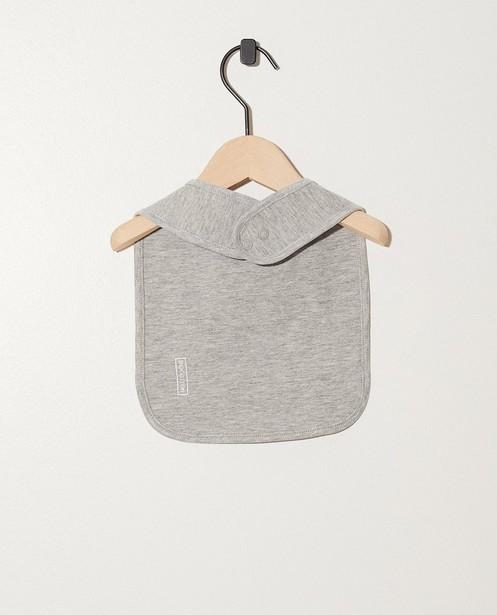 Accessoires pour bébés - light grey - Bavoir en coton bio My First