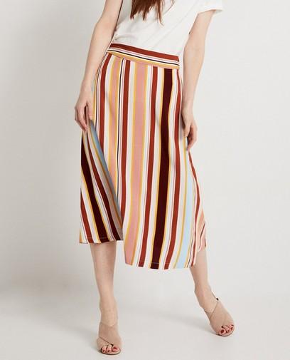 Maxi-rok met strepen Karen Damen