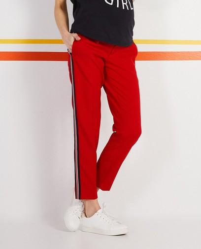 Pantalon avec une rayure
